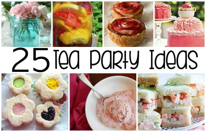 tea party ideas for a little girl party feature