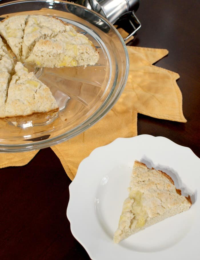 easy scone recipe with no dairy or egg