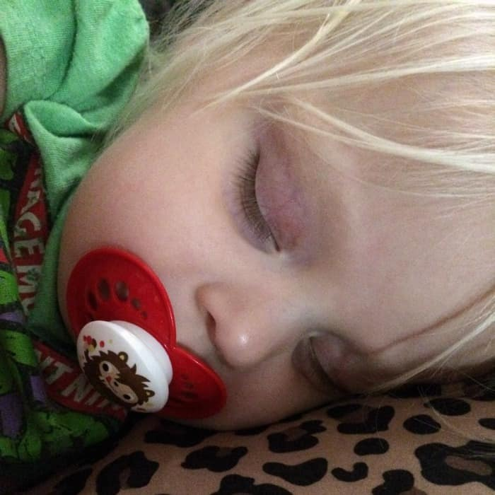 comfort a toddler with a cough