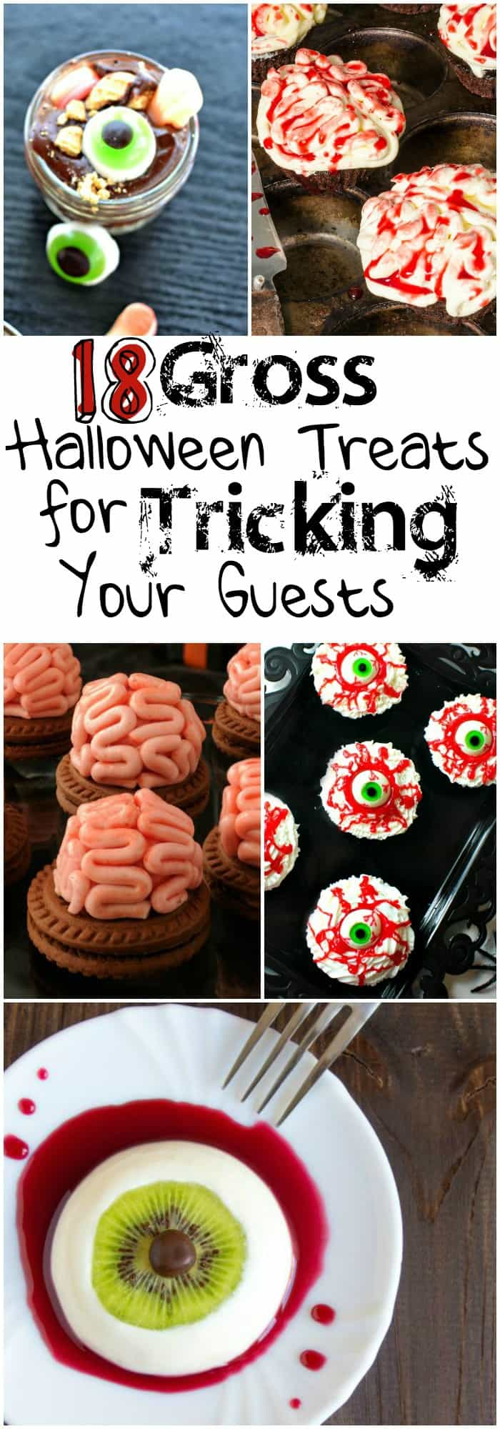 I love these gross halloween treats...the kids are going to enjoy them so much!