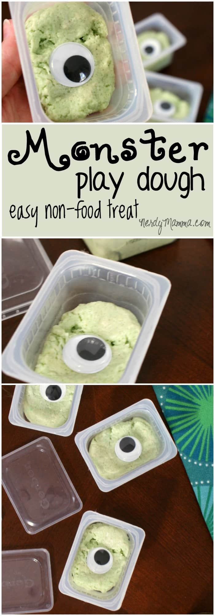 I love this treat for Halloween--that's not food! Such a fast, cute idea! Like a mini-invitation to play.