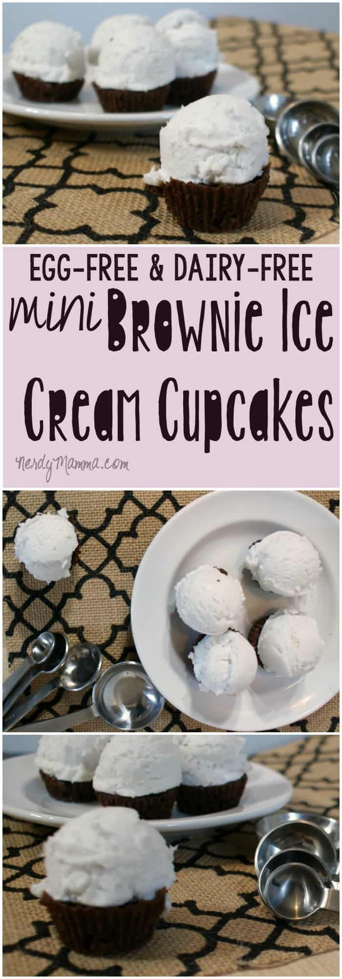 I loved these mini brownie ice cream cupcake bites so much that I had to make a second batch for the kids. I just couldn't help myself--I at them all. Oops.