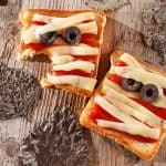 Mummy Pizza Sandwich feature