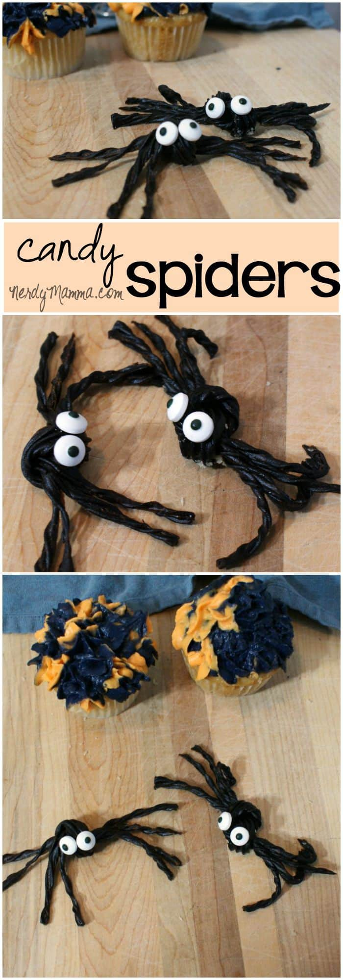 My son's class is really going to enjoy these spider candies. And they're so easy--I'm really going to enjoy making them.