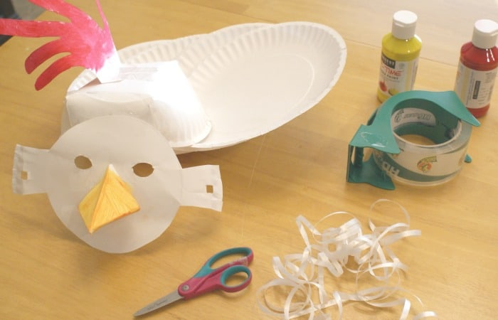 Easy Chicken Mask