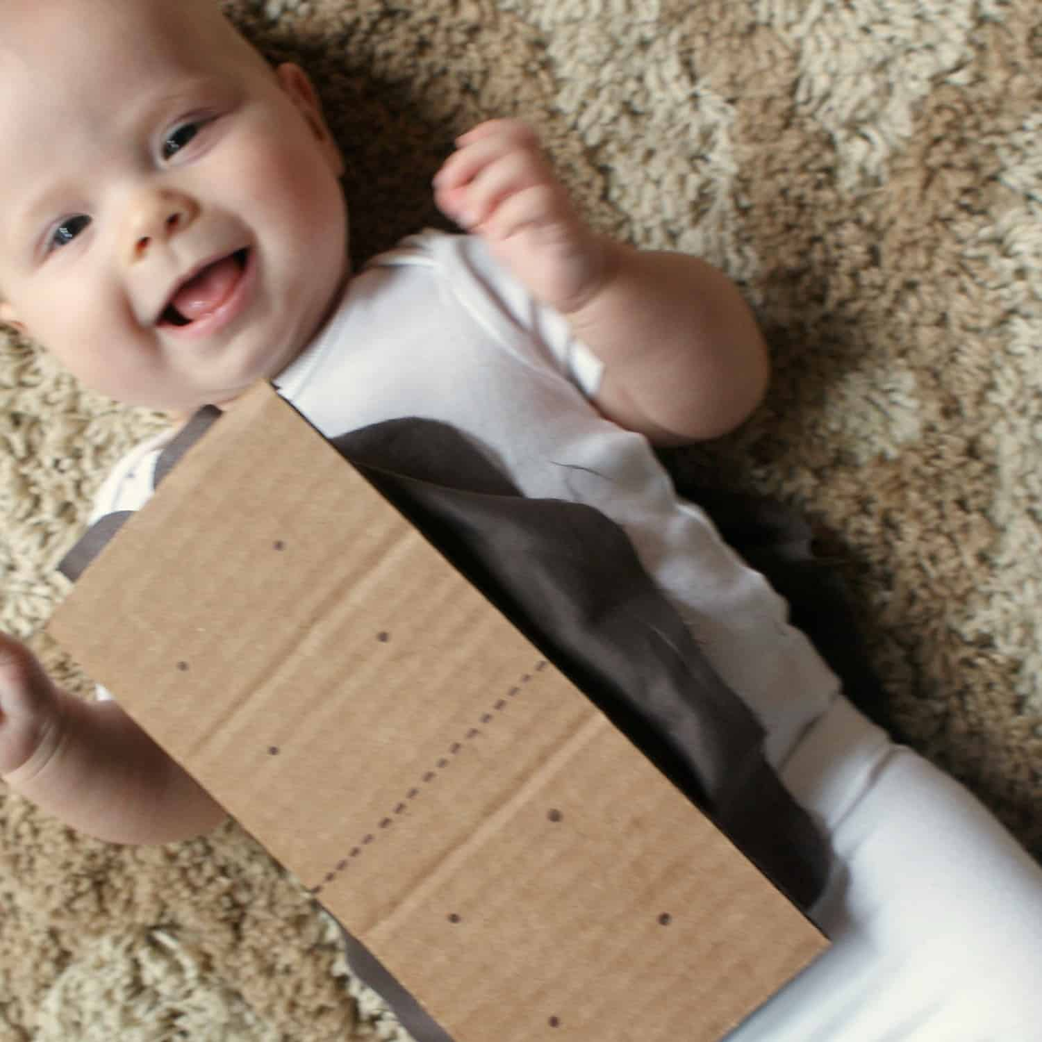 cute diy baby costume idea smores sq