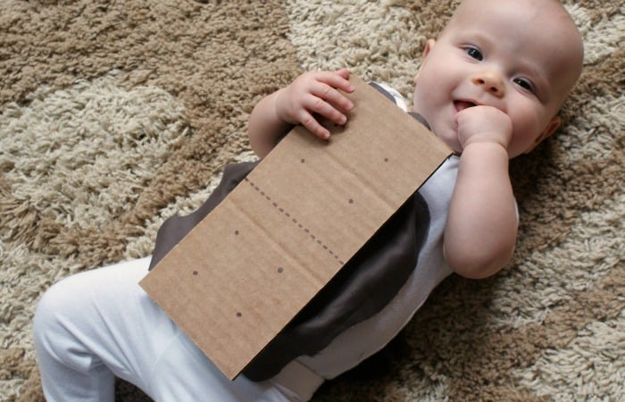 easy baby costume idea feature  sc 1 st  Nerdy Mamma : graham cracker costume  - Germanpascual.Com