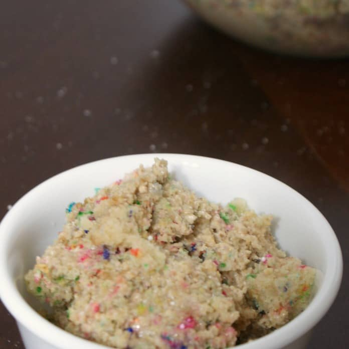 easy cake batter dip sq