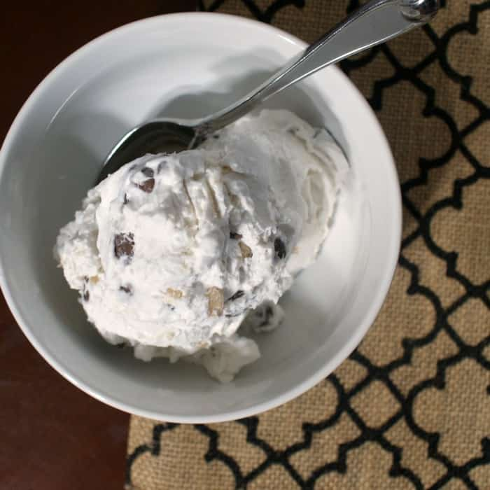 easy dairy-free mock heath bar ice cream sq