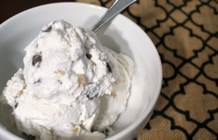 easy english toffee ice cream without dairy feature