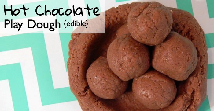 easy hot chocolate play dough recipe fb