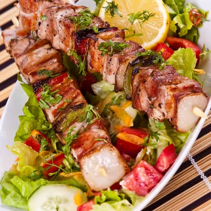 easy turkey kabob recipe sq