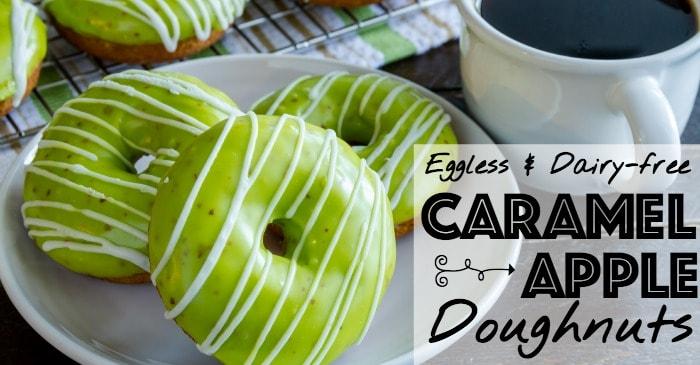 egg-free and dairy-free doughnut recipe fb