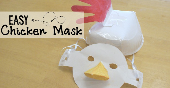silly chicken craft for kids