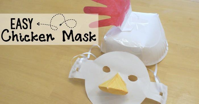 silly chicken craft for kids
