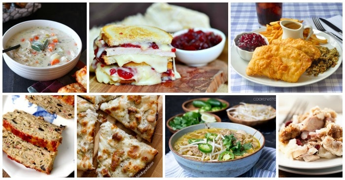 25 easy leftover turkey recipes feature