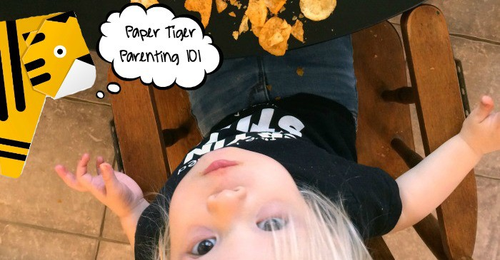 How to parent like a paper tiger fb