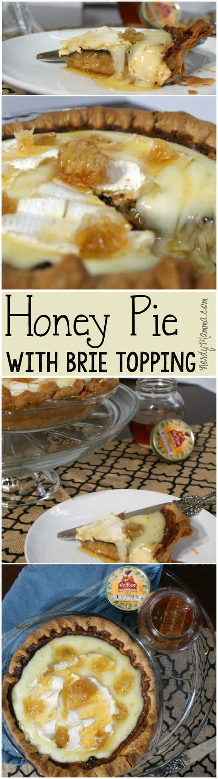 I love how yummy this Honey Pie with Brie turned out! Yummiest ever!