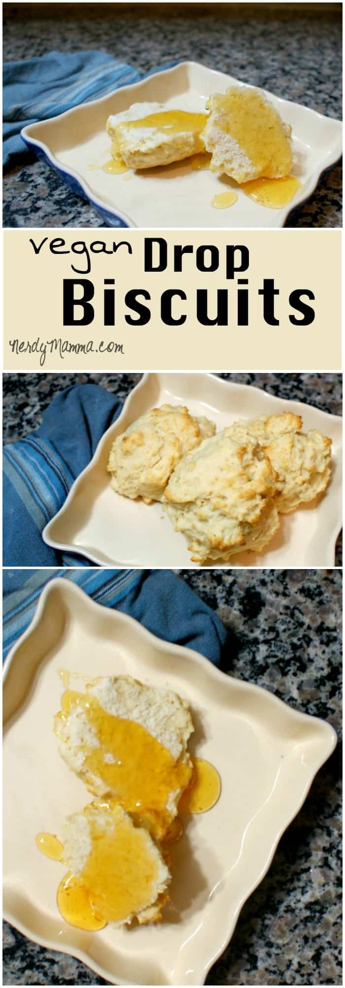 My kids love it when I make these homemade dairy-free biscuits. The recipe is so