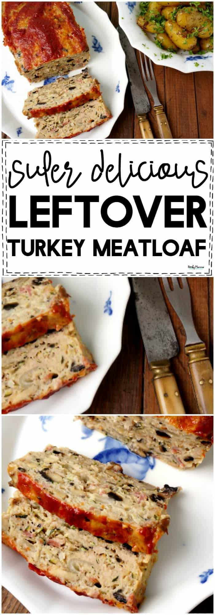 OMG this is the BEST Recipe for Thanksgiving Leftovers I have EVER tried! Flipping delicious leftover turkey meatloaf recipe! #meatloaf #leftovers #turkey #Thanksgiving #easydinners #easyrecipe #turkeymeatloaf