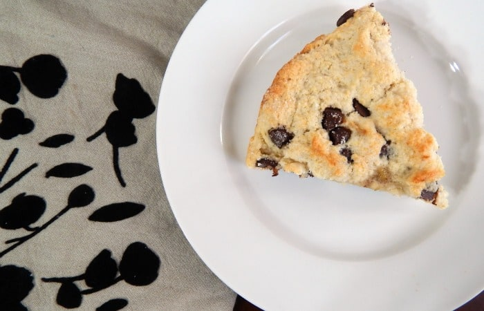 chocolate chip scone without dairy feature