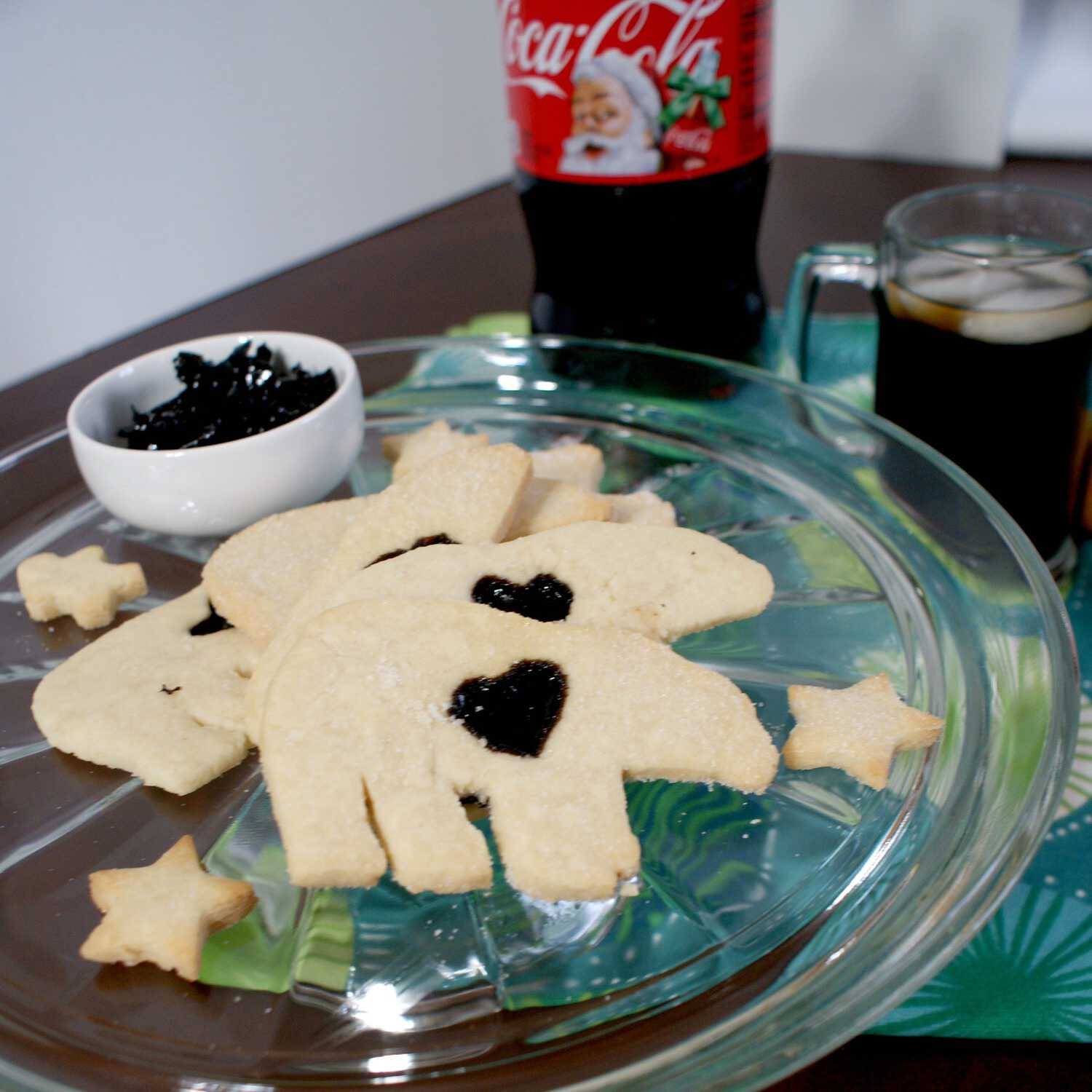 cool stained glass cookies sq