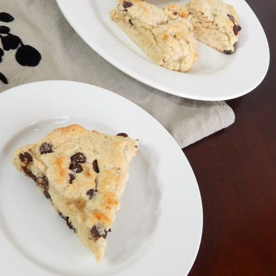easy eggless scone recipe with chocolate chips sq