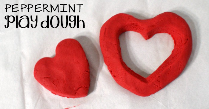 easy peppermint play doh fb