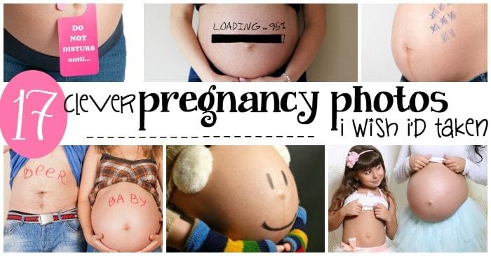 easy pregnancy photo ideas fb