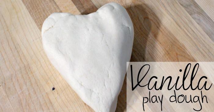 easy vanilla play dough recipe for kids fb