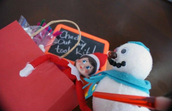 elf on the shelf idea bag feature