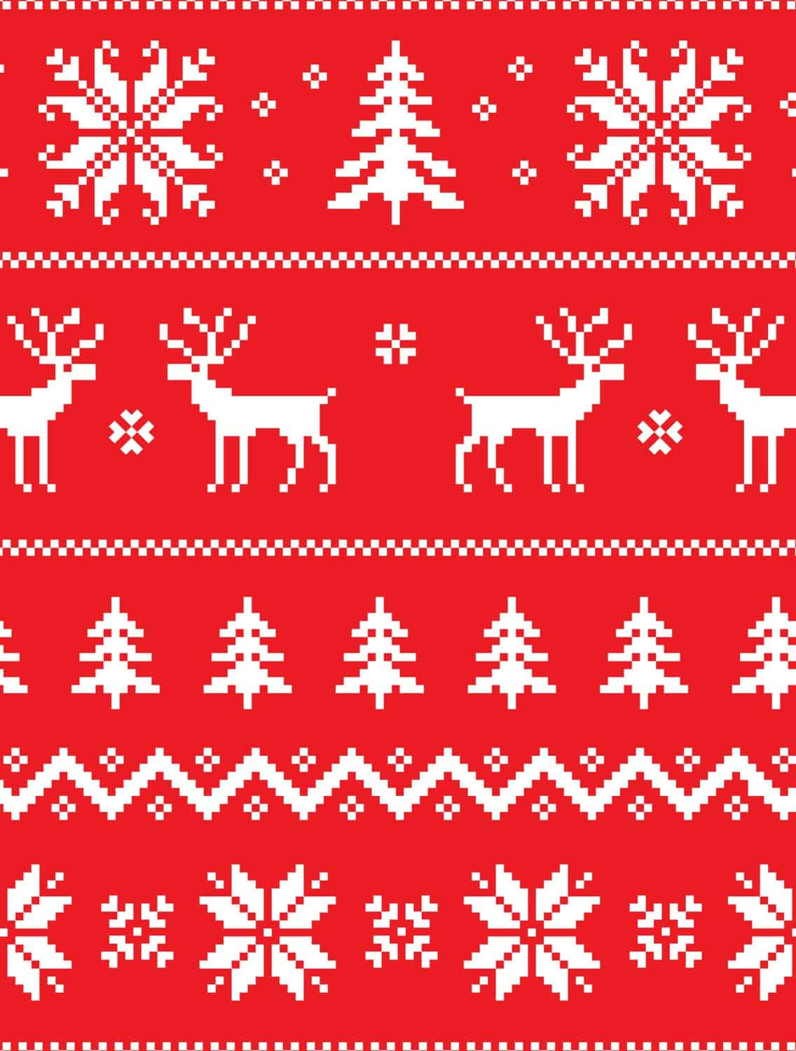image about Printable Christmas Wrapping Paper identify 10 Totally free Printable Unappealing Xmas Sweater Wrapping Papers