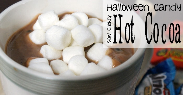 halloween candy slow cooker hot cocoa fb
