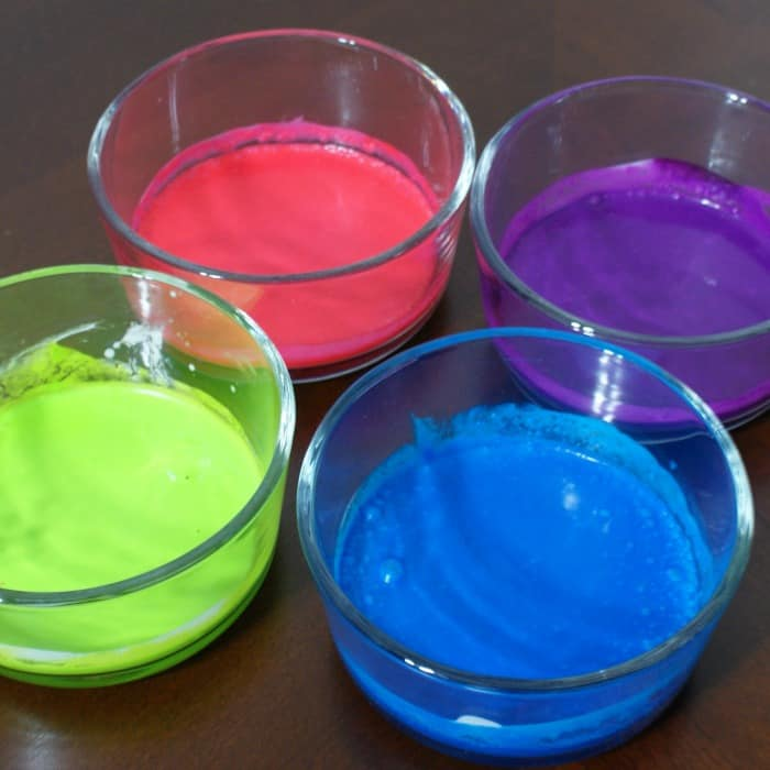 homemade finger paint without milk sq