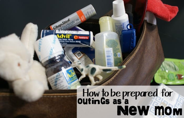 how to be prepared for outings as a new mom hero