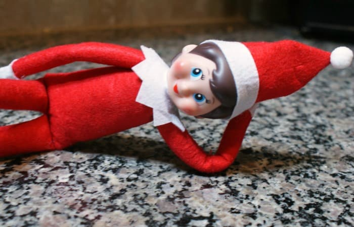 how to make elf on the shelf posable feature