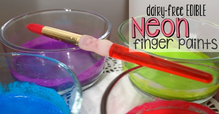 how to make finger paint without milk fb