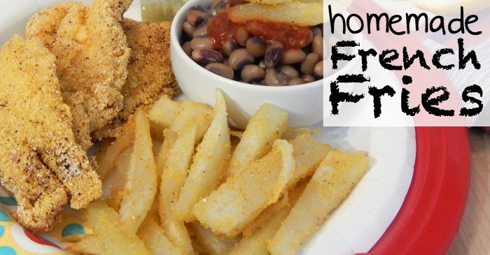 how to make homemade french fries fb