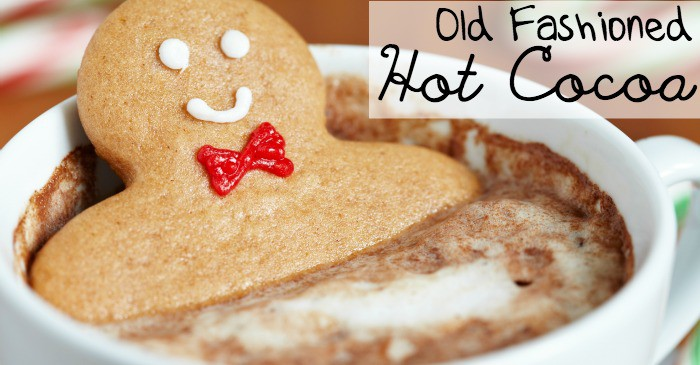 old fashioned hot chocolate recipe fb