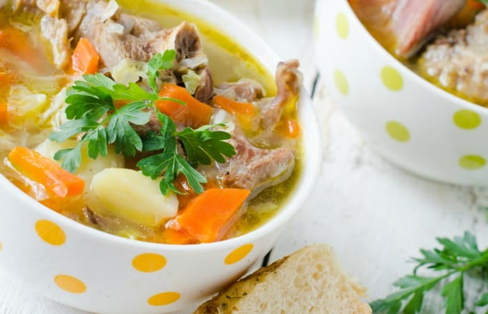 3-Ingredient Leftover Turkey Stew