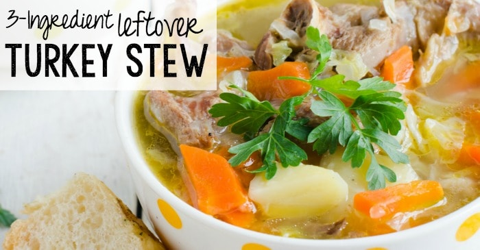 stew recipe using leftover turkey fb