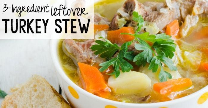 stew recipe using leftover turkey fb