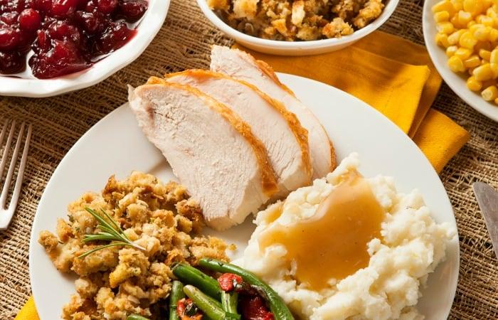 thanksgiving dinner shopping list feature