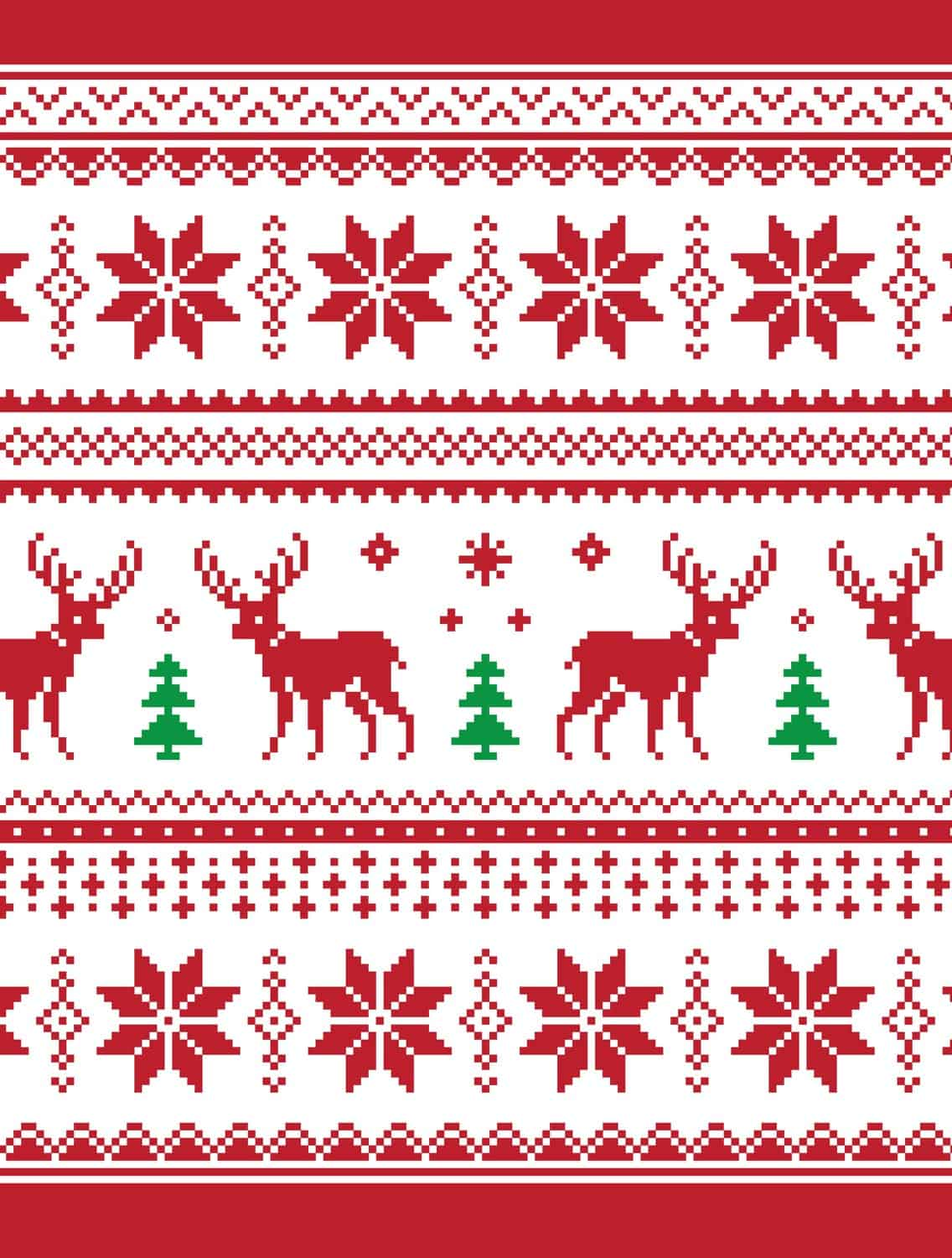 image relating to Printable Christmas Wrapping Paper identify 10 No cost Printable Unsightly Xmas Sweater Wrapping Papers