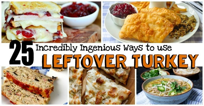 what to make with thanksgiving turkey leftovers fb