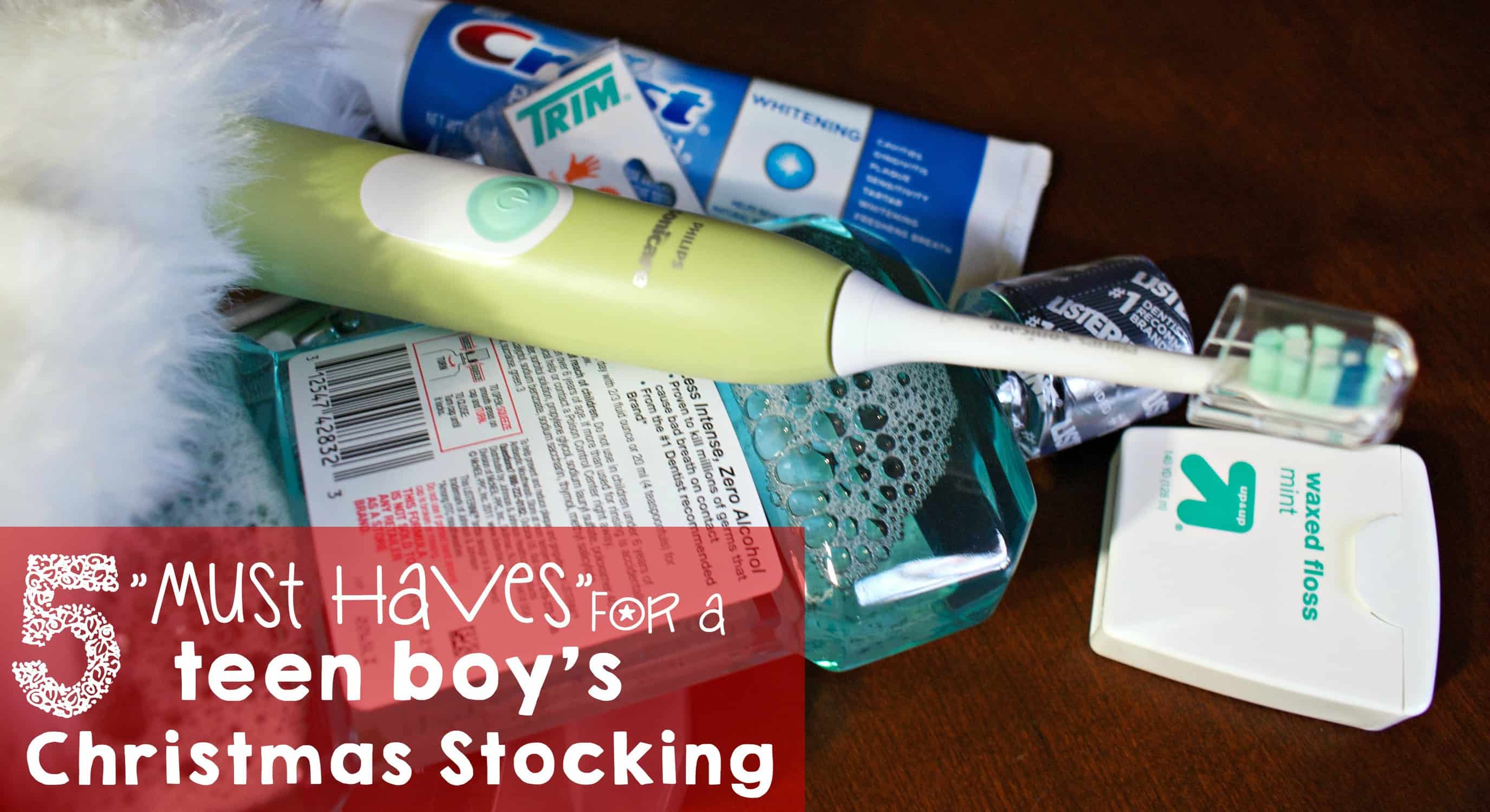 5 must haves for a teen boy's christmas stocking fb