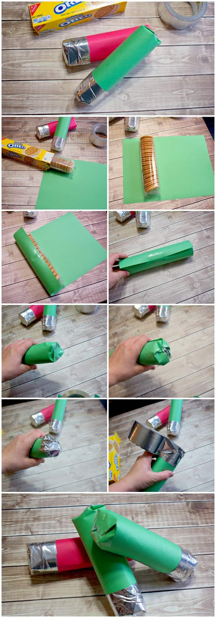 How to make a cookie light saber for a party favor