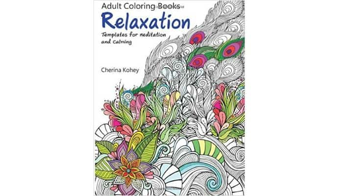 adult coloring books to relax with