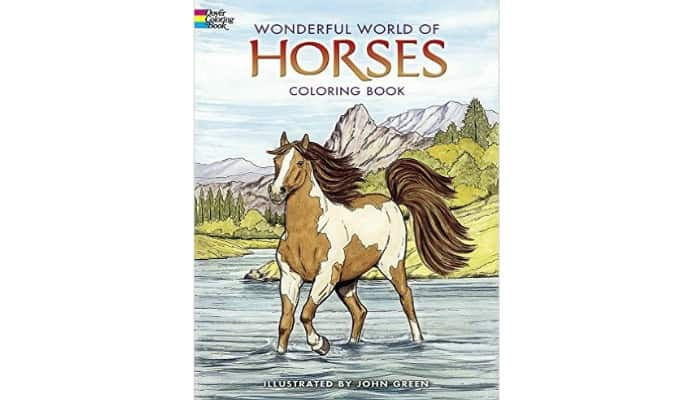 adult coloring pages with horses