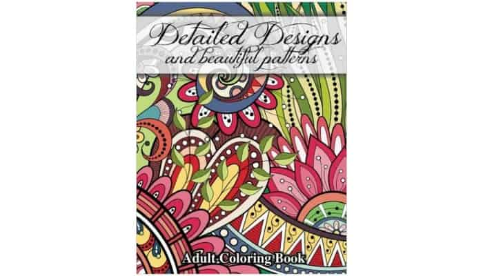 beautiful adult coloring book gift idea